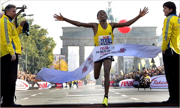 Hopefully I'll be finishing the marathon like this...